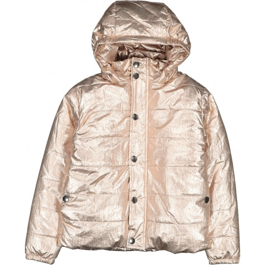 JACKET DISCO METALLIC CANVAS - ROSE GOLD