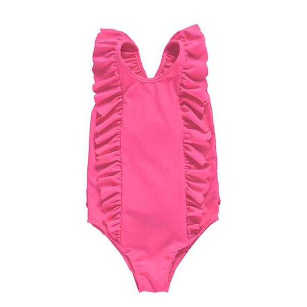 Bermude Fluo Pink Bathing Suit
