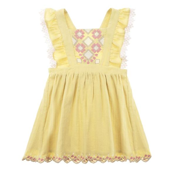 Pinea Soft Yellow Dress