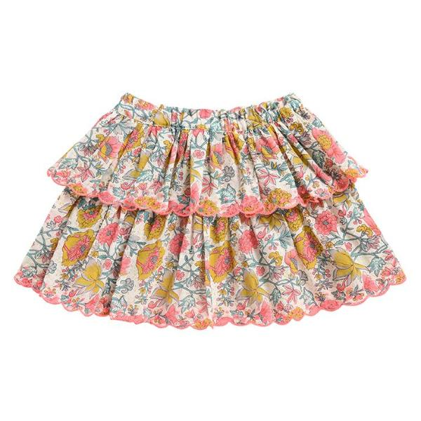 Litchi Multi Flowers Skirt