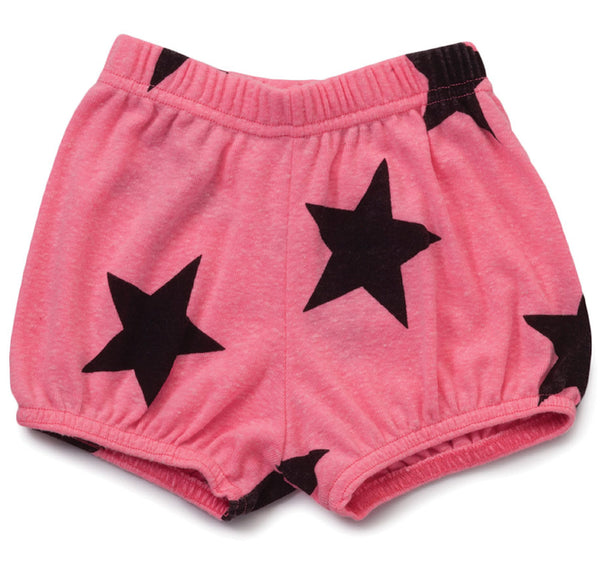 Star Yoga Shorts, Pink