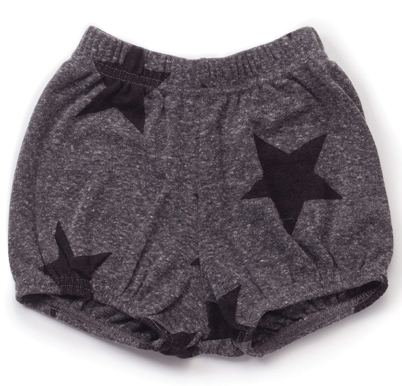 Star Yoga Shorts, Charcoal