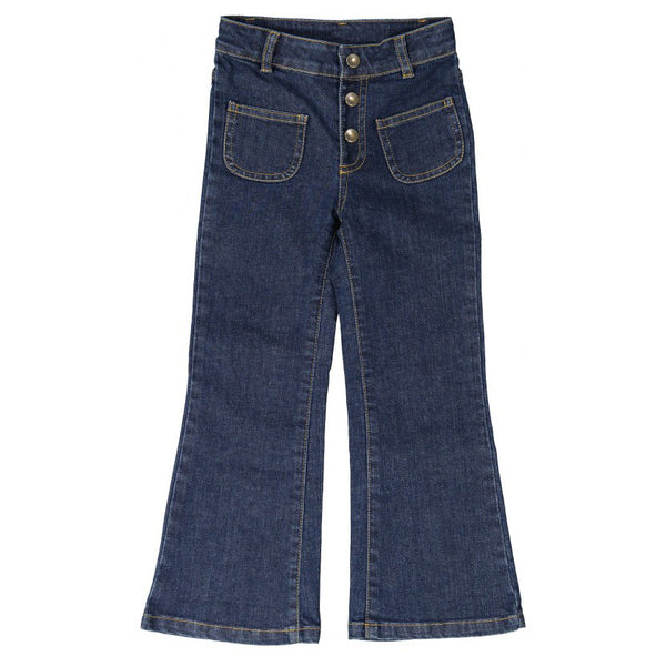 Christie Trousers, Denim Blue