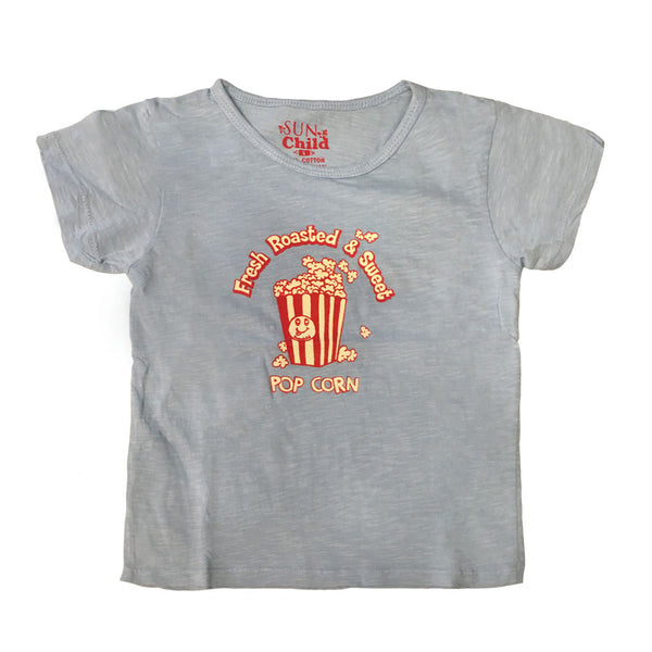 Pop Corn T-shirt, Sky