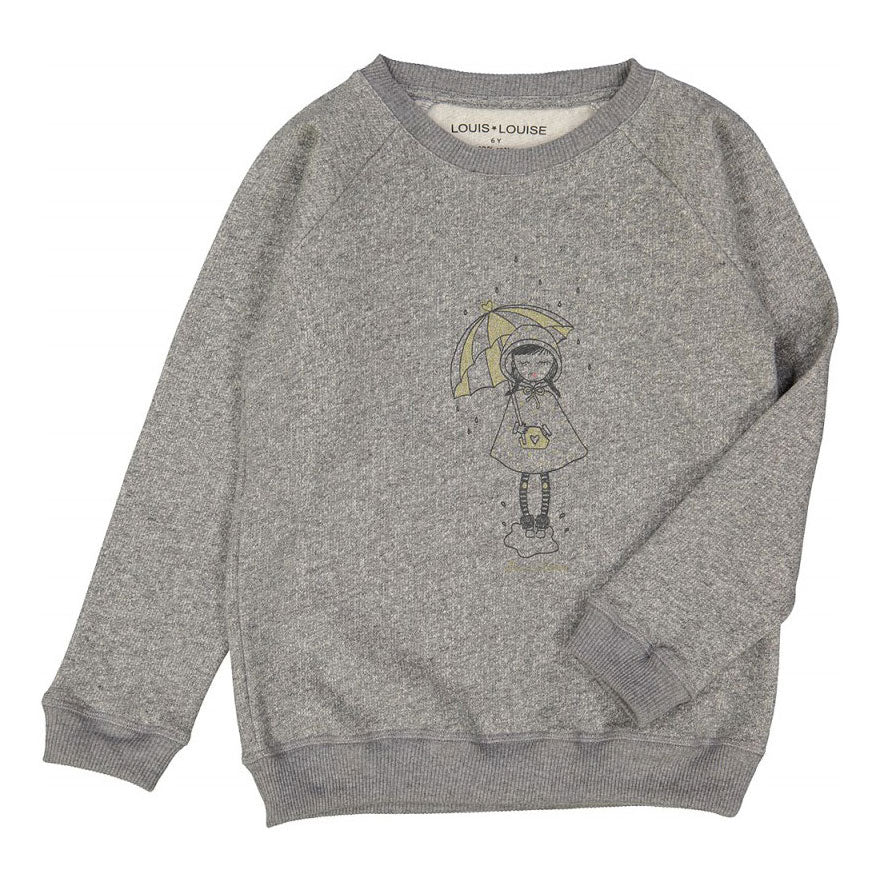 James Sweatshirt, Marled Grey