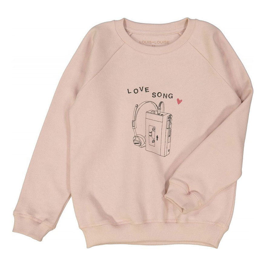 James Sweatshirt, Pink