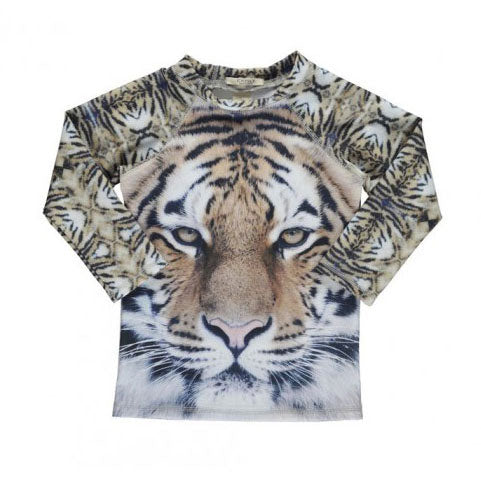 Swim Blouse UV Tiger