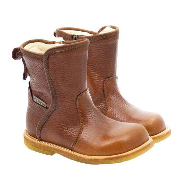 TEX Boot With Zipper, Brown