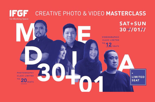 Creative Photo & Video Masterclass at IFGF Place