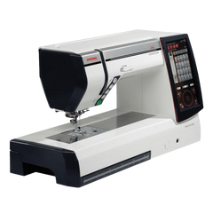 Janome Horizon Memory Craft 12000 Embroidery And Sewing Machine Includes Free Bonus Accessories