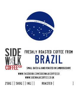 BRAZIL 1kg - Single origin coffee - RFA, Mogiana, Sul de Minas, and Cerrado - Sidewalk Coffee - freshly roasted coffee - online or wholesale
