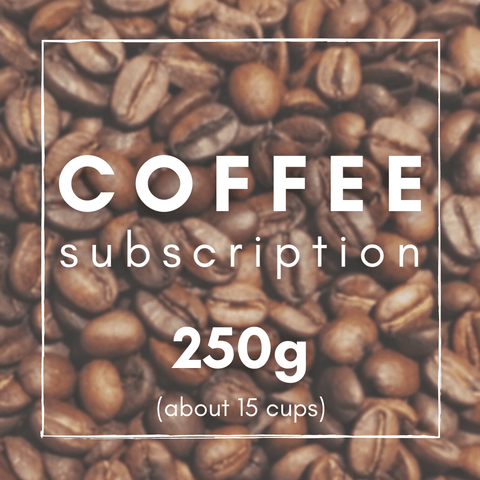 Coffee Subscription Blend or Single Origin - Letterbox and Eco Friendly.  Speciality Grade or Crafted Blend.