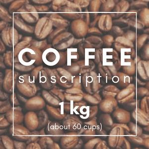1kg Super Saver Freshly Roasted Coffee Subscription
