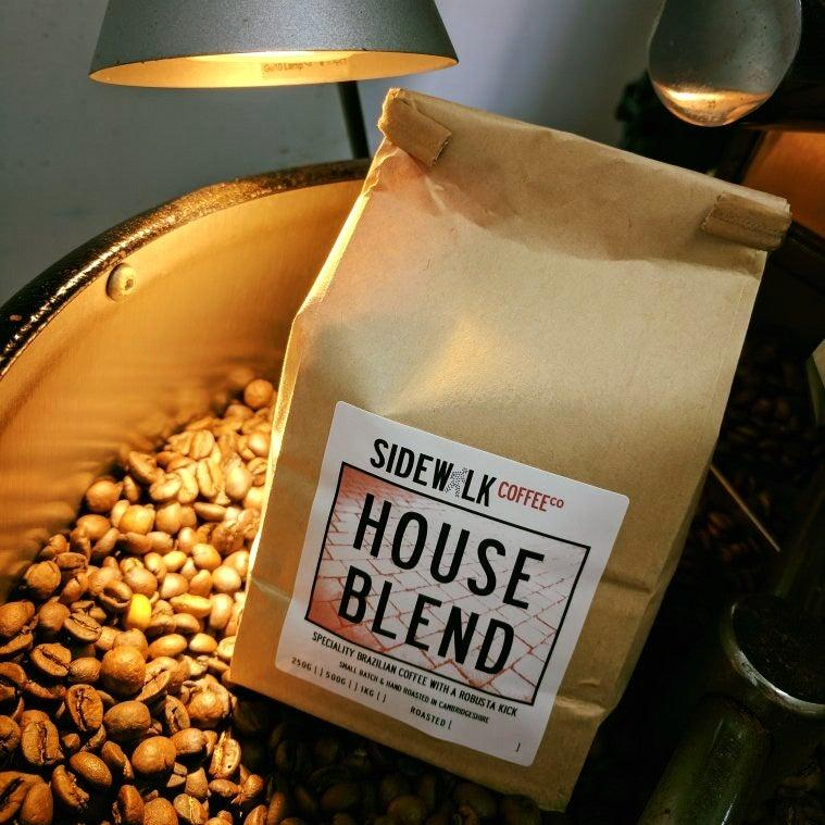 HOUSE BLEND  - Speciality Coffee Blend with a Robusta kick - Sidewalk Coffee - freshly roasted coffee - online or wholesale