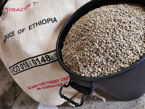 Ethiopian 250g - Single Origin Coffee - Grade 1 - Ethiopia - Washed Yirgacheffe Hafursa Waro - Washed Arabica