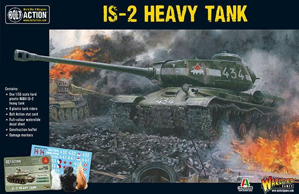 IS-2 Heavy Tank Plastic