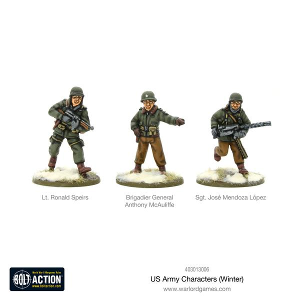 US Army Characters (Winter)