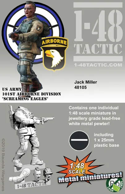 Jack Miller - Us Army 101st Airborne Division