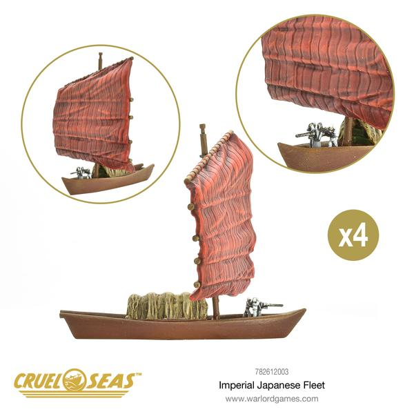 Cruel Seas: - Japanese Starter Set Imperial Japanese Navy Fleet