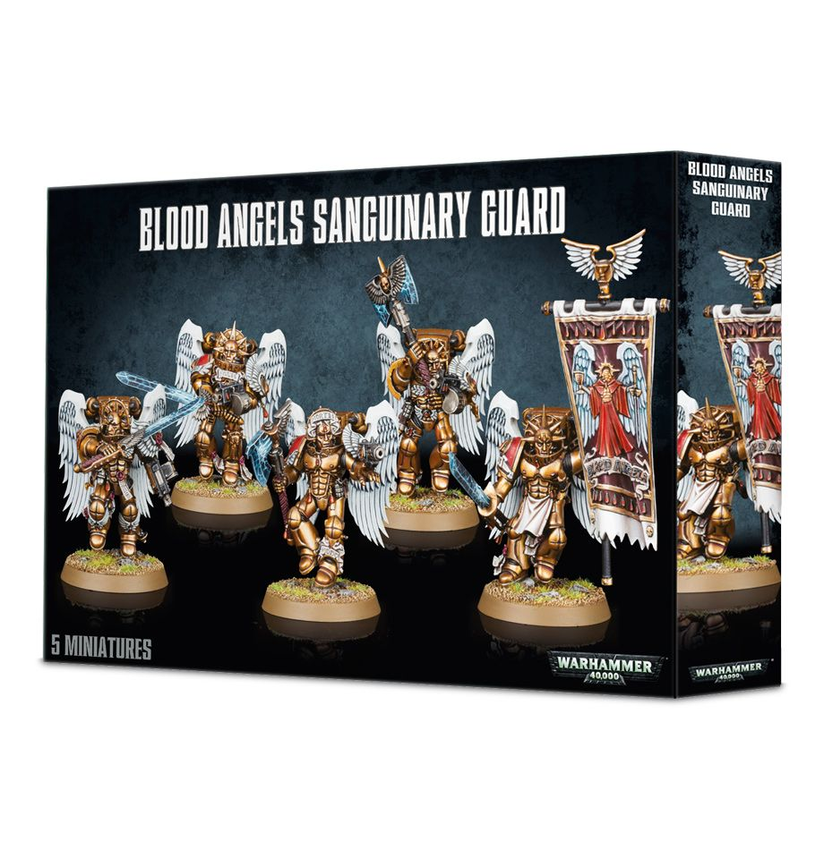 Space Marine Blood Angels Sanguinary Guard