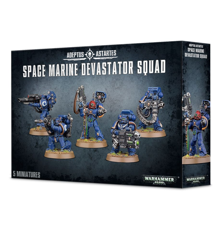 Space Marines Devastator Squad