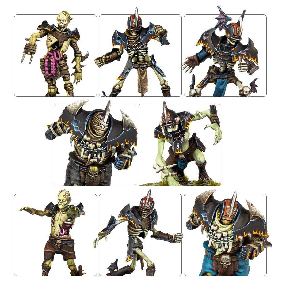 The Champions of Death - Shambling Undead Blood Bowl Team