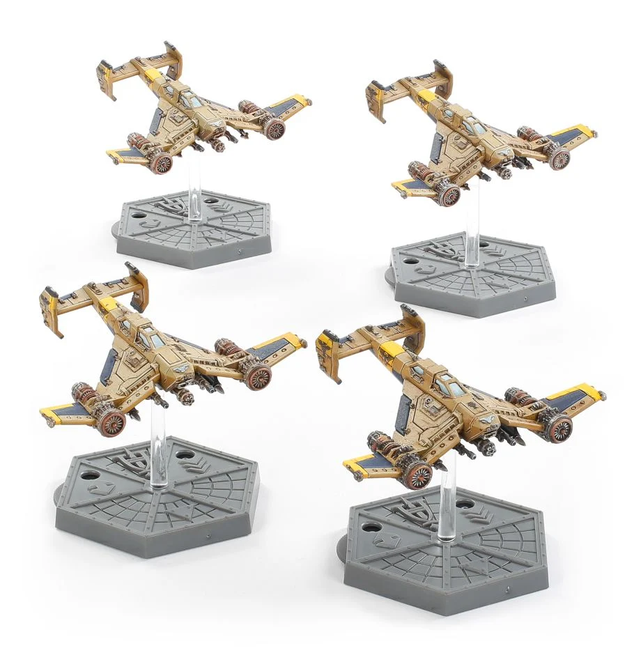 Imperial Navy Avenger Strike Fighters