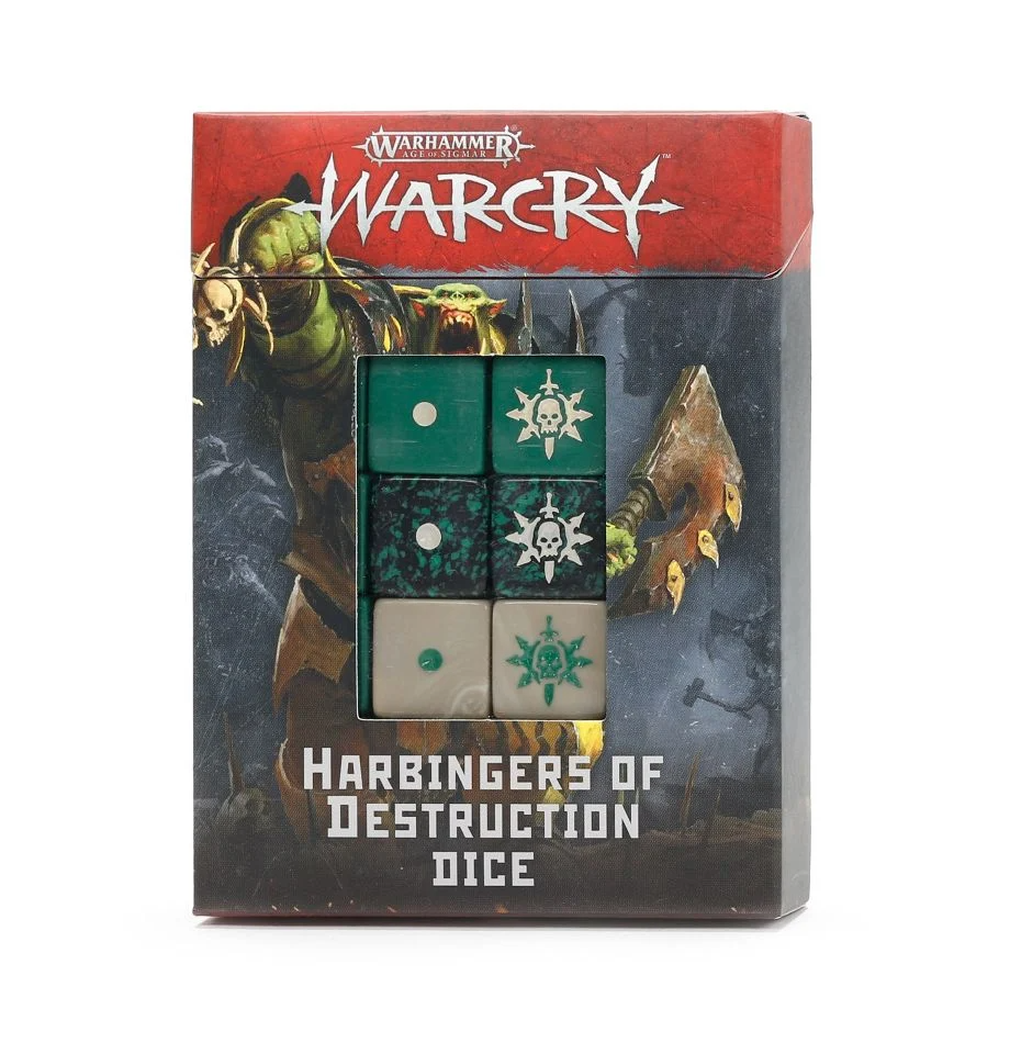 Warcry: Harbingers of Destruction Dice Set