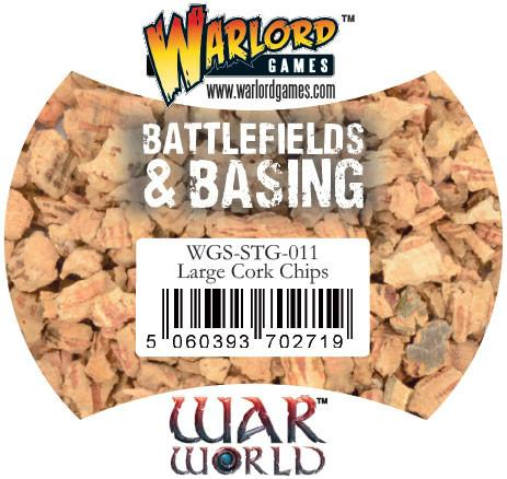 Warlord Scenics Large Cork Chips