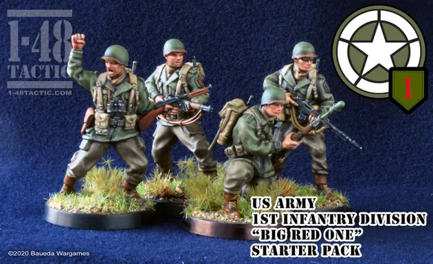 "US Army 1st Infantry Division ""Big Red One"" Starter Pack"