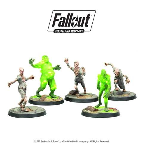 Fallout: Wasteland Warfare Creatures: Ghouls