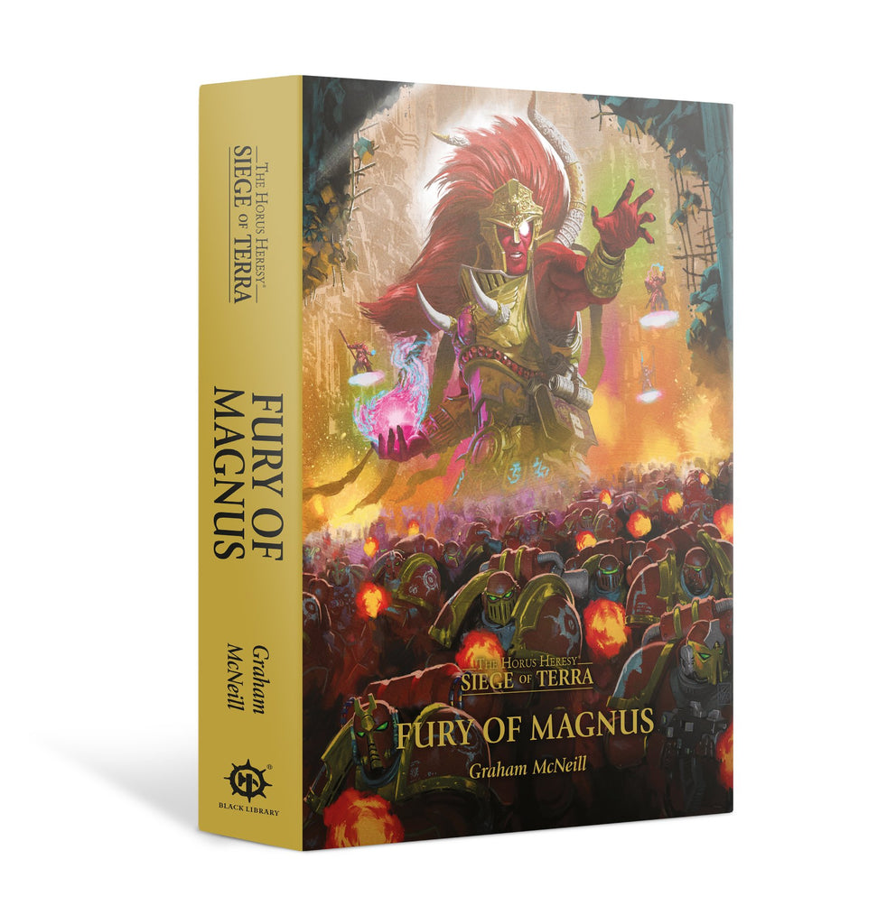 Fury of Magnus (Hardback) The Horus Heresy: Siege of Terra Novella