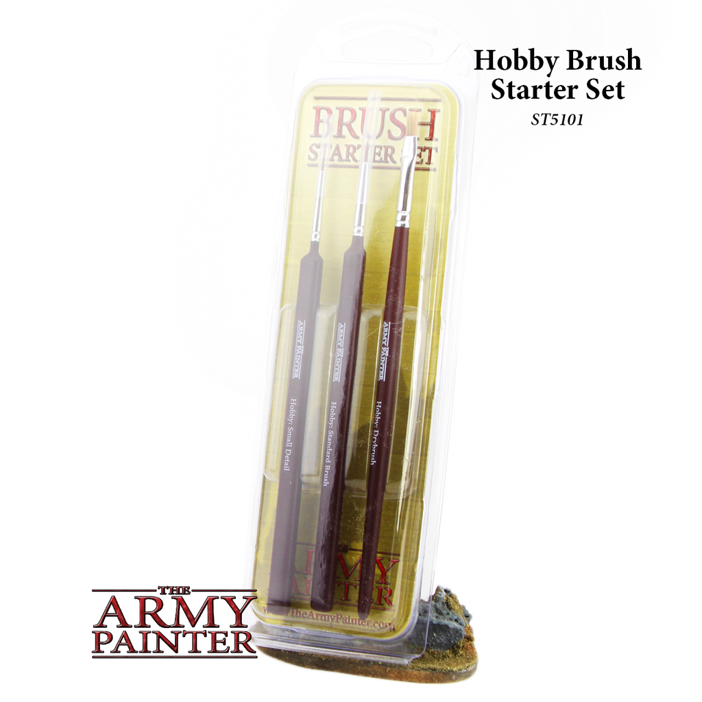 The Army Painter Hobby Brush Starter Set