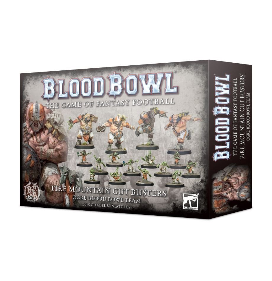 Fire Mountain Gut Busters - Ogre Blood Bowl Team