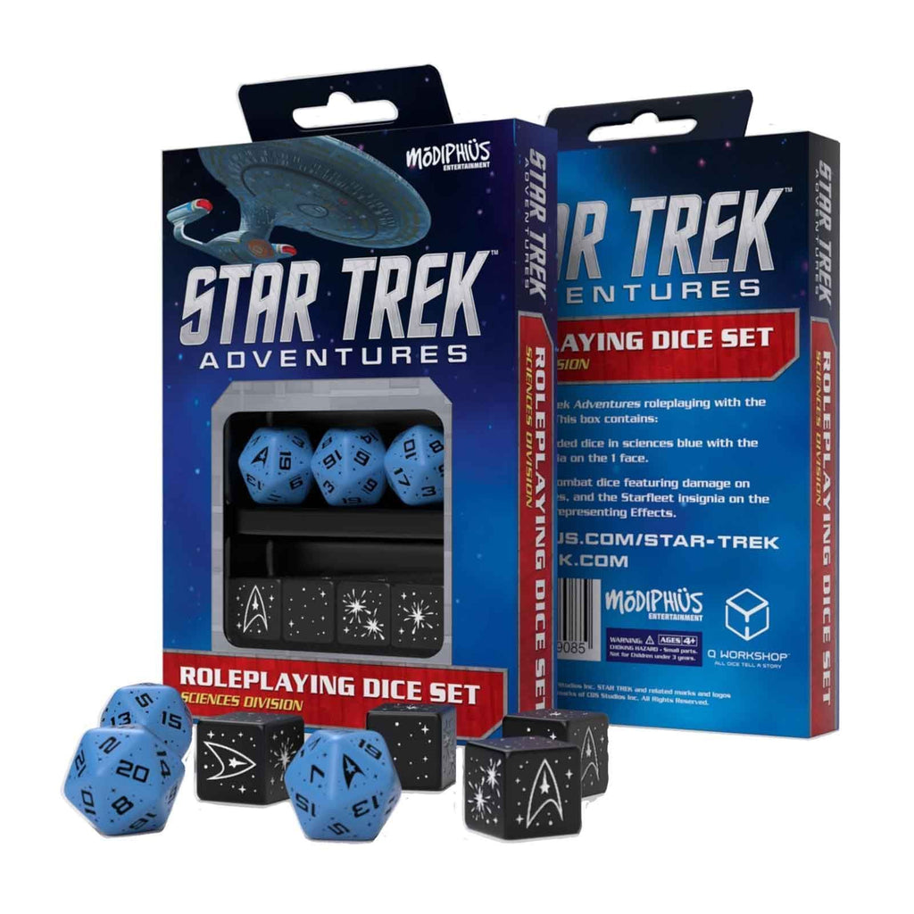 Star Trek Adventures: Sciences Division Dice Set
