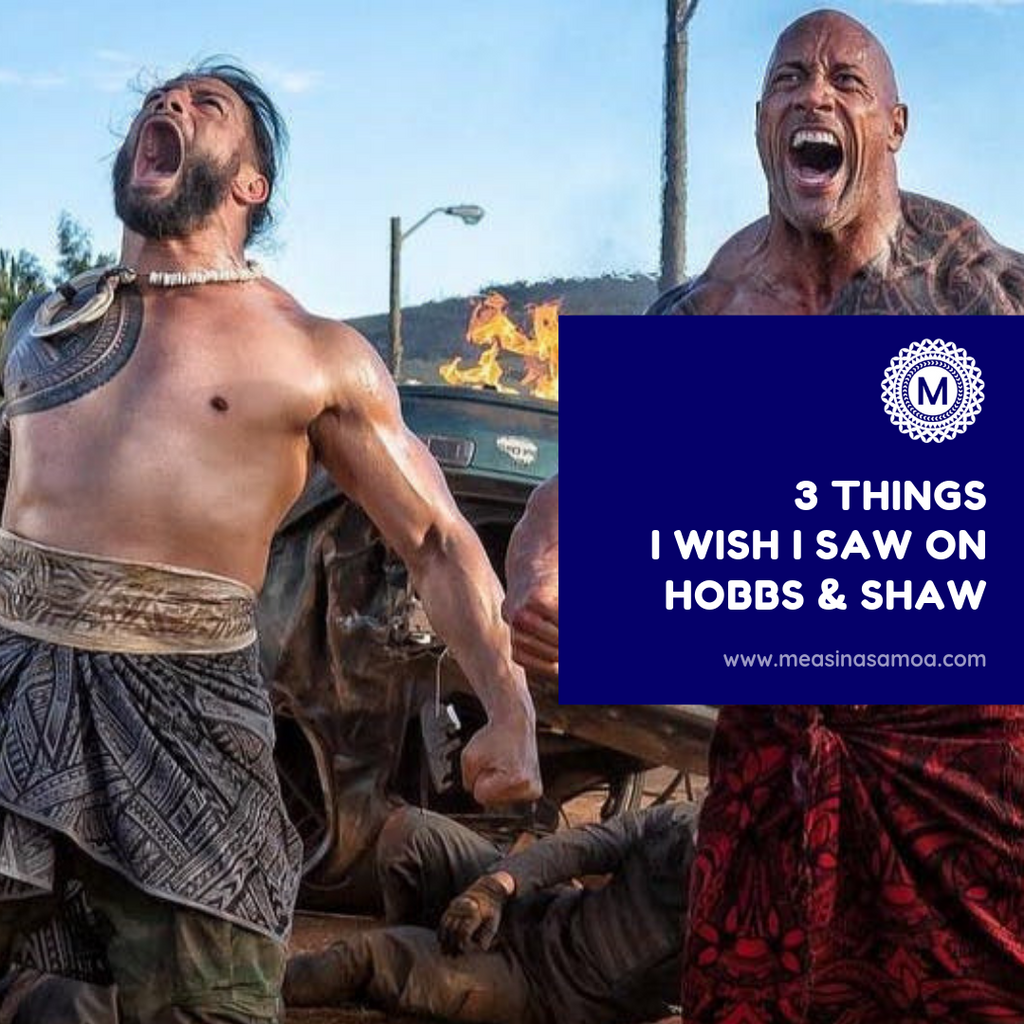 3 things I wish I saw on Hobbs and Shaw