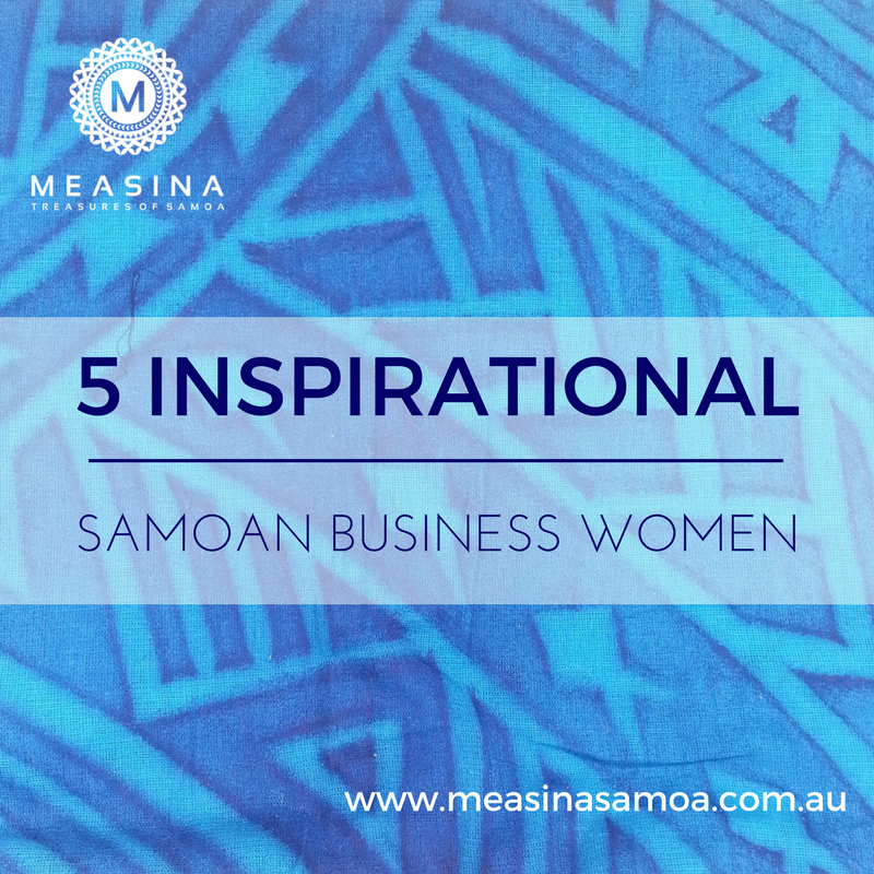 5 Inspirational Samoan Business Women