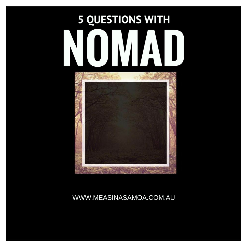 5 Questions with Nomad