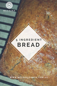5 Ingredient Bread