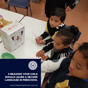 5 Reasons You Child Should Learn a Second Language in Preschool