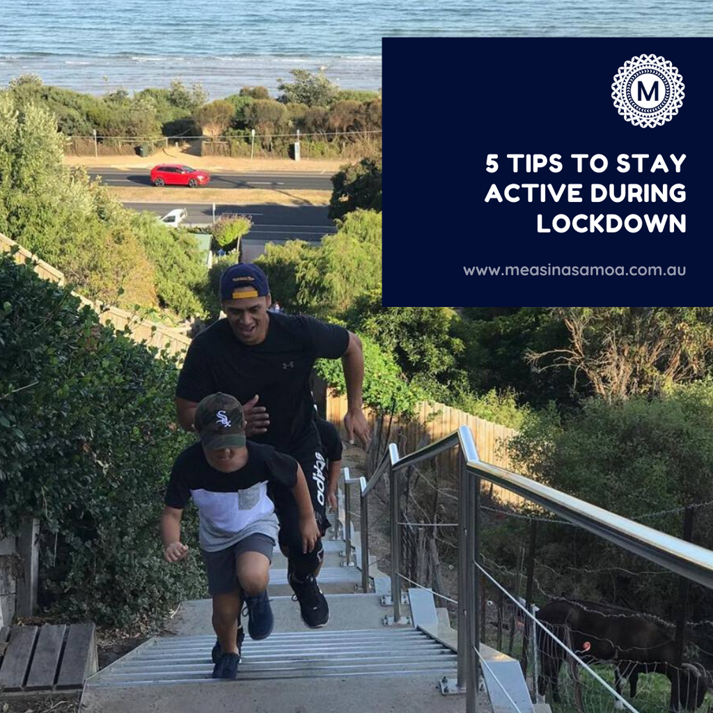 5 Tips to Stay Active During Lockdown