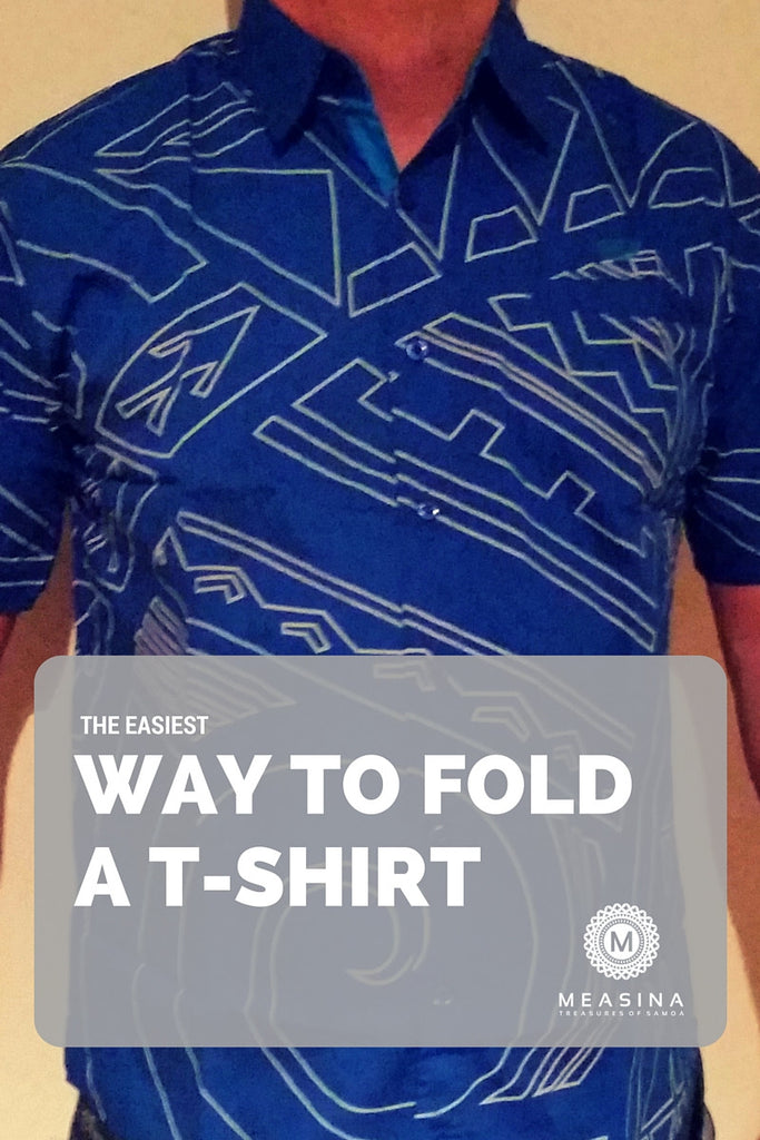 The Easiest Way to Fold a T-Shirt