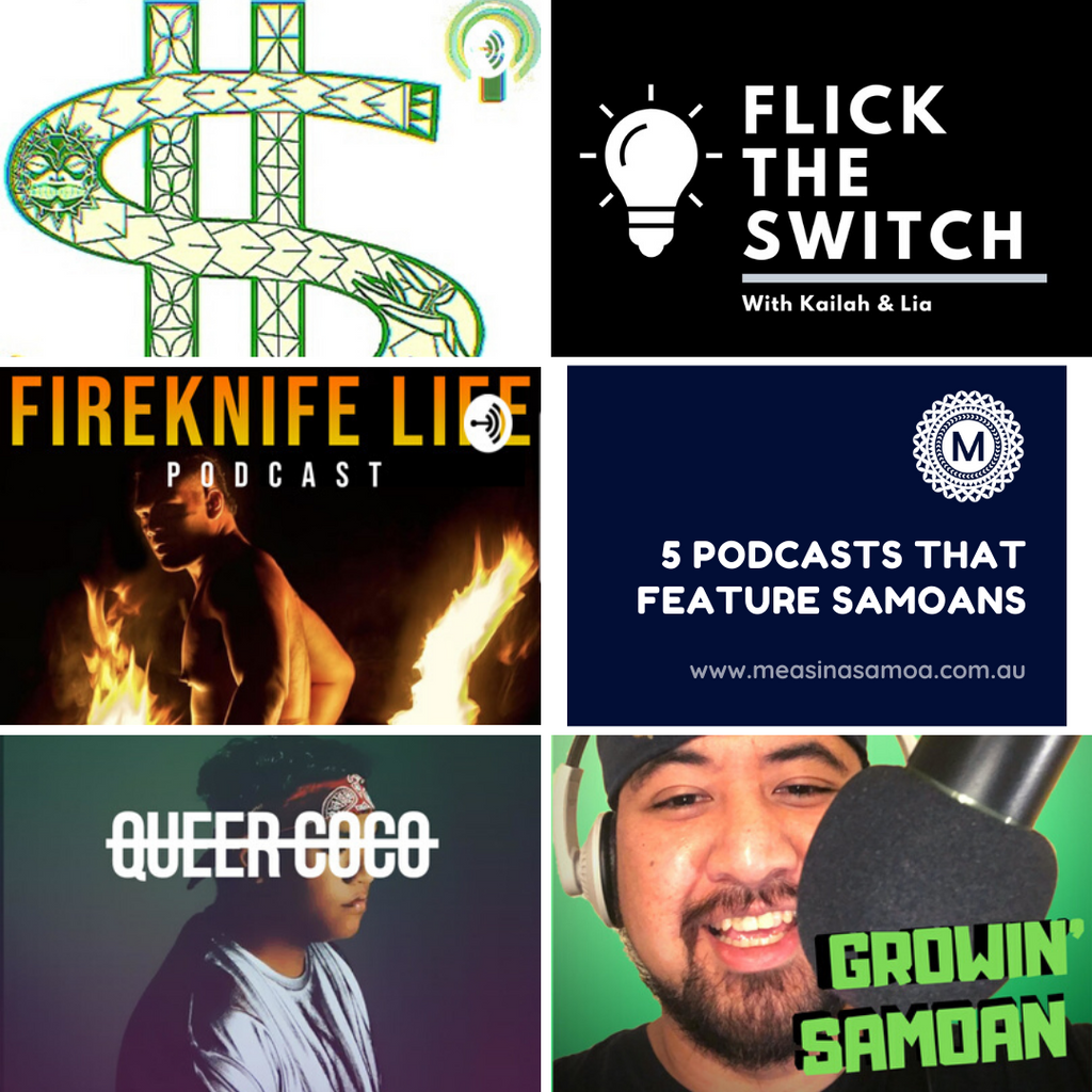 5 Podcasts that Feature Samoans