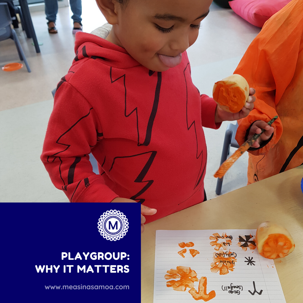 Playgroup: why it matters