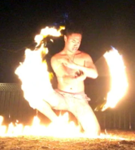 Measina Siva Afi (fire knife dance) School