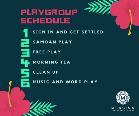 Playgroup Schedule