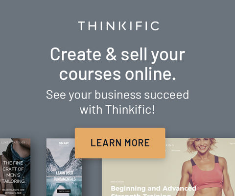 Thinkifik Create and Sell Your Courses Online