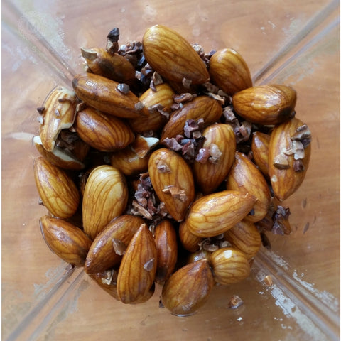 Almonds and Cacao Nibs