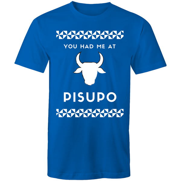 You Had Me at Pisupo AS Colour Staple Cotton T-Shirt - Measina Treasures of Samoa
