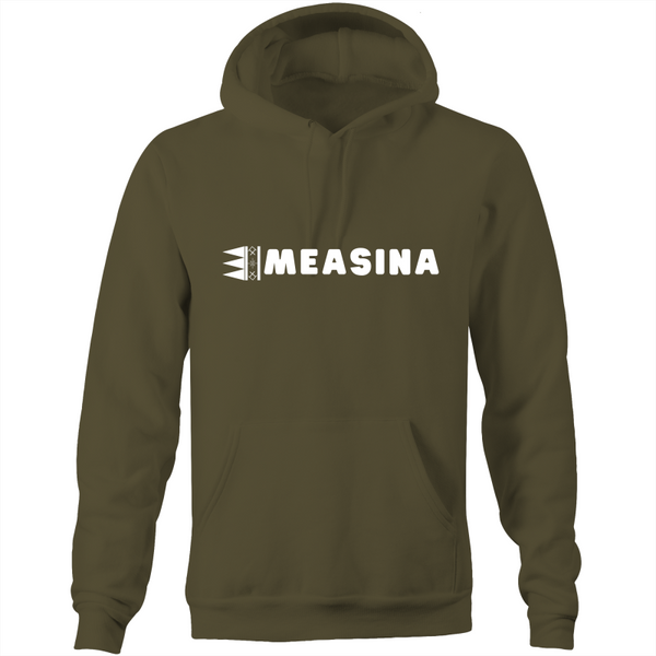 Measina Pe'a Unisex AS - Pocket Hoodie Sweatshirt - Measina Treasures of Samoa